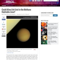 Could Alien Life Exist in the Methane Habitable Zone?