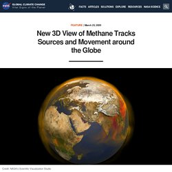 New 3D View of Methane Tracks Sources and Movement around the Globe