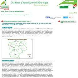CHAMBRE D AGRICULTURE RHONE ALPES 03/02/16 Méthanisation agricole : Quel état des lieux ?