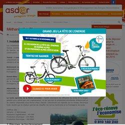 Méthanisation Biogaz - ASDER