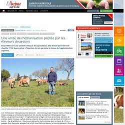 REUSSIR VIGNES 21/04/16 Une unité de méthanisation pilotée par les éleveurs douessins