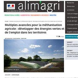 MAA 31/01/17 Multiples avancées pour la méthanisation agricole : développer des énergies vertes et de l'emploi dans les territoires