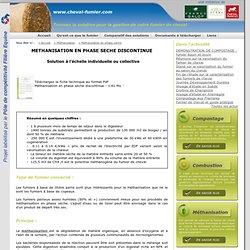 Méthanisation en phase sèche - cheval-fumier.com - Trouvez la solution pour la gestion de votre fumier de cheval