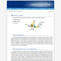 Méthanisation.info - Valorisation du biogaz