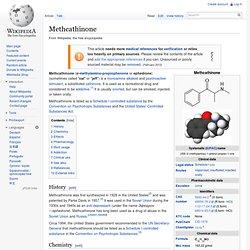 Methcathinone