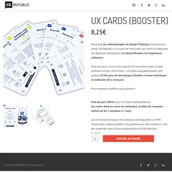 UX method Cards, le jeu de cartes centré sur l'UX !