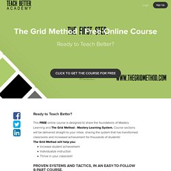 The Grid Method - Free Online Course