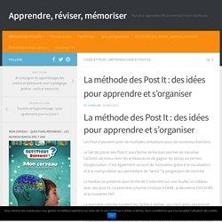 La méthode des Post It : des idées pour apprendre et s'organiser