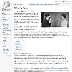 Méthode Bates