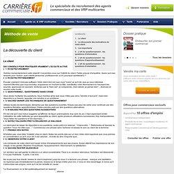 Méthode de vente-Le client - Carrière Commerciale - Page 1