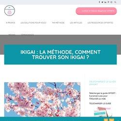 Ikigai : la méthode, comment trouver son Ikigai ? - AH Accompagnement