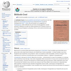 Méthode Coué/ Wikipedia