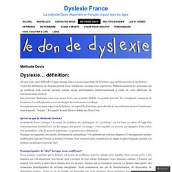 Dyslexie France