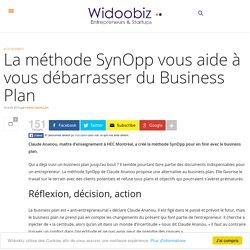 La méthode SynOpp vous aide à vous débarrasser du Business Plan