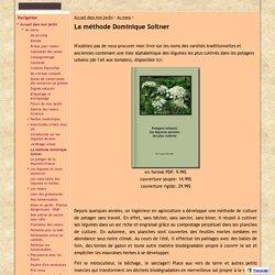 La méthode Dominique Soltner - Au jardin de Louise C