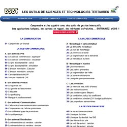Exercices interactifs et numériques -BSBT