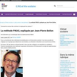 La méthode PIKAS, expliquée par Jean-Pierre Bellon