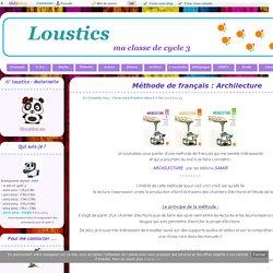 Méthode de français : Archilecture