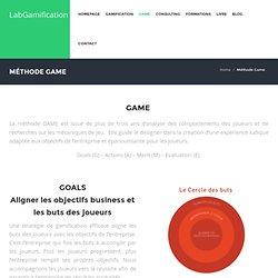 Méthode GAME - Lab GamificationLabGamification