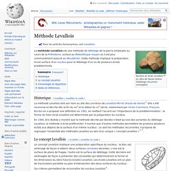 Méthode Levallois