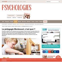Méthode Montessori - Pédagogie Montessori