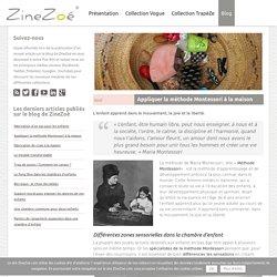 La méthode Montessori - Le blog de ZineZoé