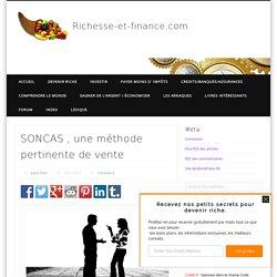 SONCAS , une méthode pertinente de vente