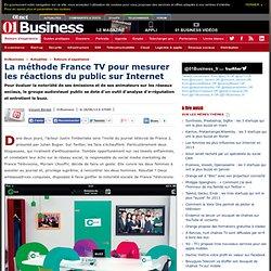 01NET 28/06/13 La méthode France TV pour mesurer les réactions du public sur Internet