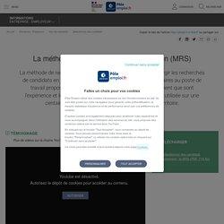 La méthode de recrutement par simulation (MRS)