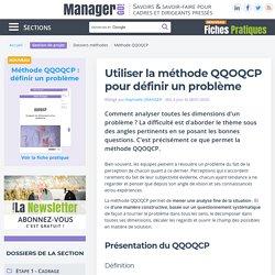 Méthode QQOQCP : analyse et résolution des problèmes