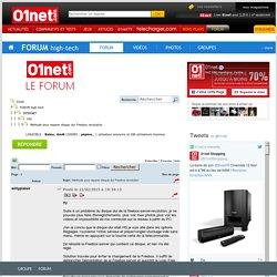 Methode pour reparer disque dur Freebox revolution - FAI - INTERNET