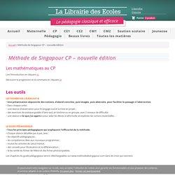 Méthode de Singapour CP - nouvelle édition