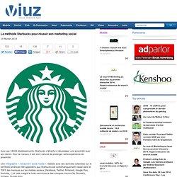 La méthode Starbucks pour réussir son marketing social