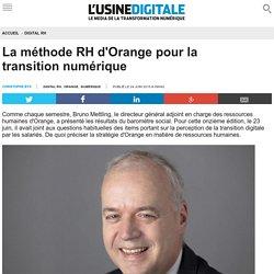 La méthode RH d'Orange pour la transition numérique