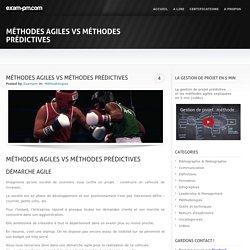 Méthodes agiles VS méthodes prédictives