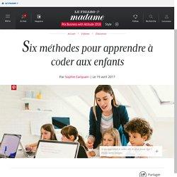 Six méthodes pour apprendre à coder aux enfants - Madame Figaro