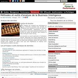 Methodes et outils d'analyse de données de la Business Intelligence