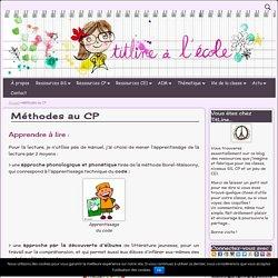 Méthodes au CP