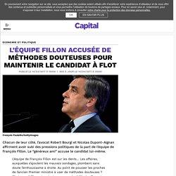 L'équipe Fillon accusée de méthodes douteuses pour maintenir le candidat à flot