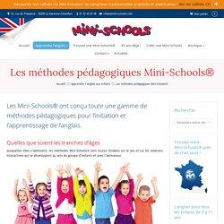 Anglais pour enfants - Mini-Schools cours et stages anglais enfants de 3 à 14 ans