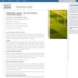 Méthodes agiles : les principales méthodes agiles - Manifeste agile - AMJ-groupe : la qualité au service du projet, avant, pendant, après. - AMJ GROUPE v1.0.0