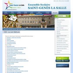 CDI - Le coin Méthodo - Ensemble scolaire Saint Genes