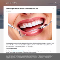 Methodological Impact Exposed To Cosmetic Oral Care