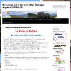 Bienvenue sur le site du collège François-Auguste PERRINON