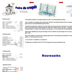 Méthodologie dessins, croquis, peintures
