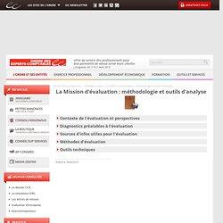 La Mission d'évaluation : méthodologie et outils d'analyse / Évaluation d'entreprise / Focus bases documentaires