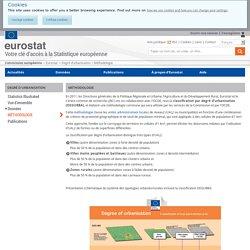 Méthodologie - Eurostat