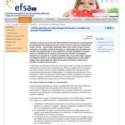 EFSA 12/07/13 EFSA presents cumulative assessment group methodology for pesticides