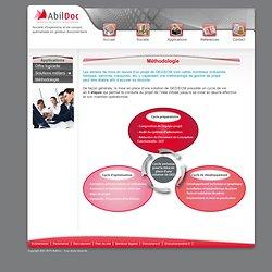 Méthodologie projet - Gestion de projet - GED - ECM - AbilDoc