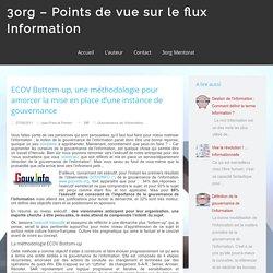 ECOV Bottom-up, une méthodologie pour la gouvernance de l'information
